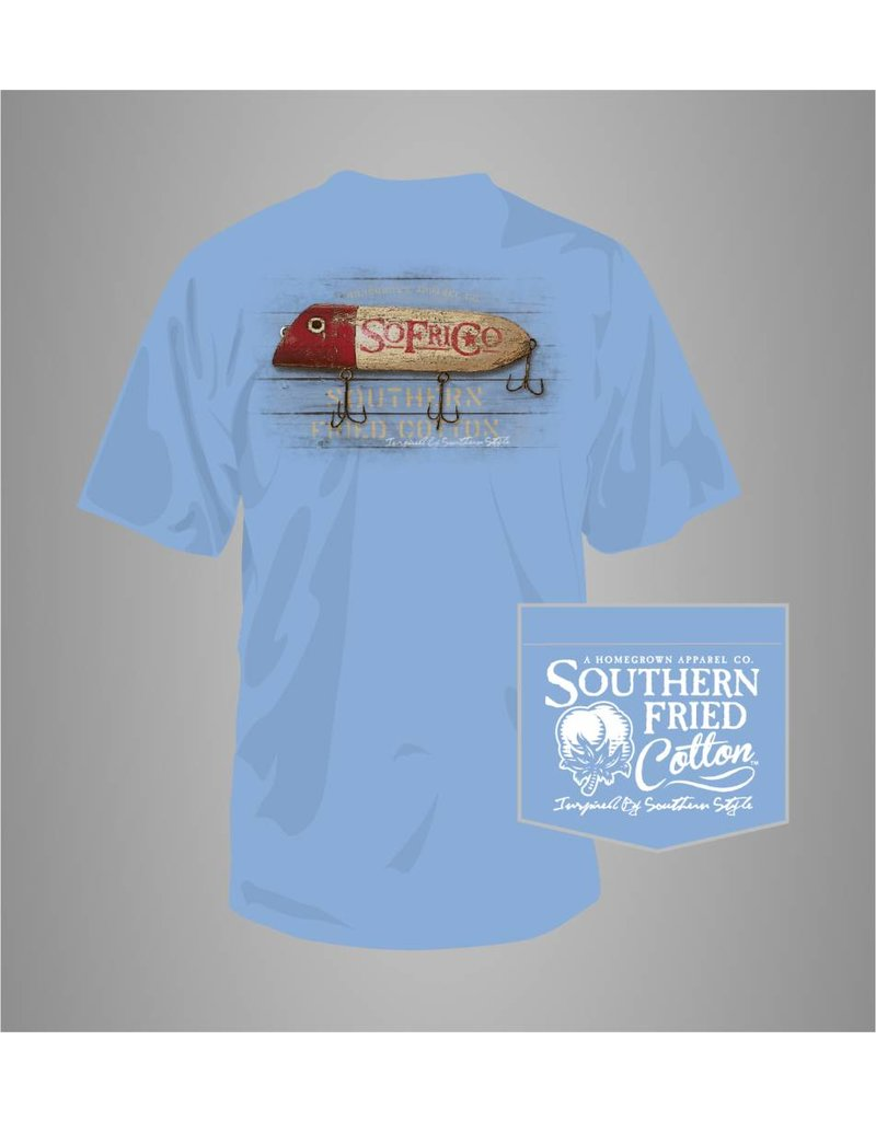 Southern Fried Cotton Southern Fried Cotton Wooden Lure T-Shirt