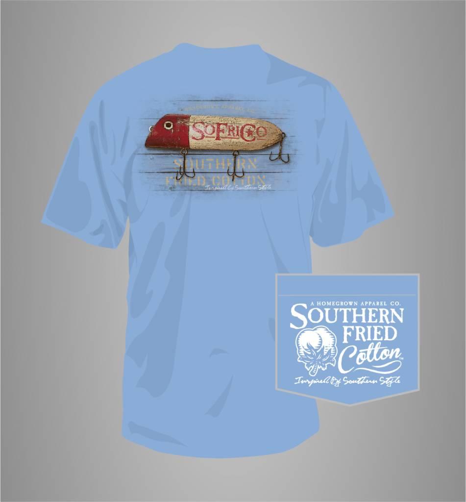 Southern Fried Cotton Southern Fried Cotton Wooden Lure T-Shirt