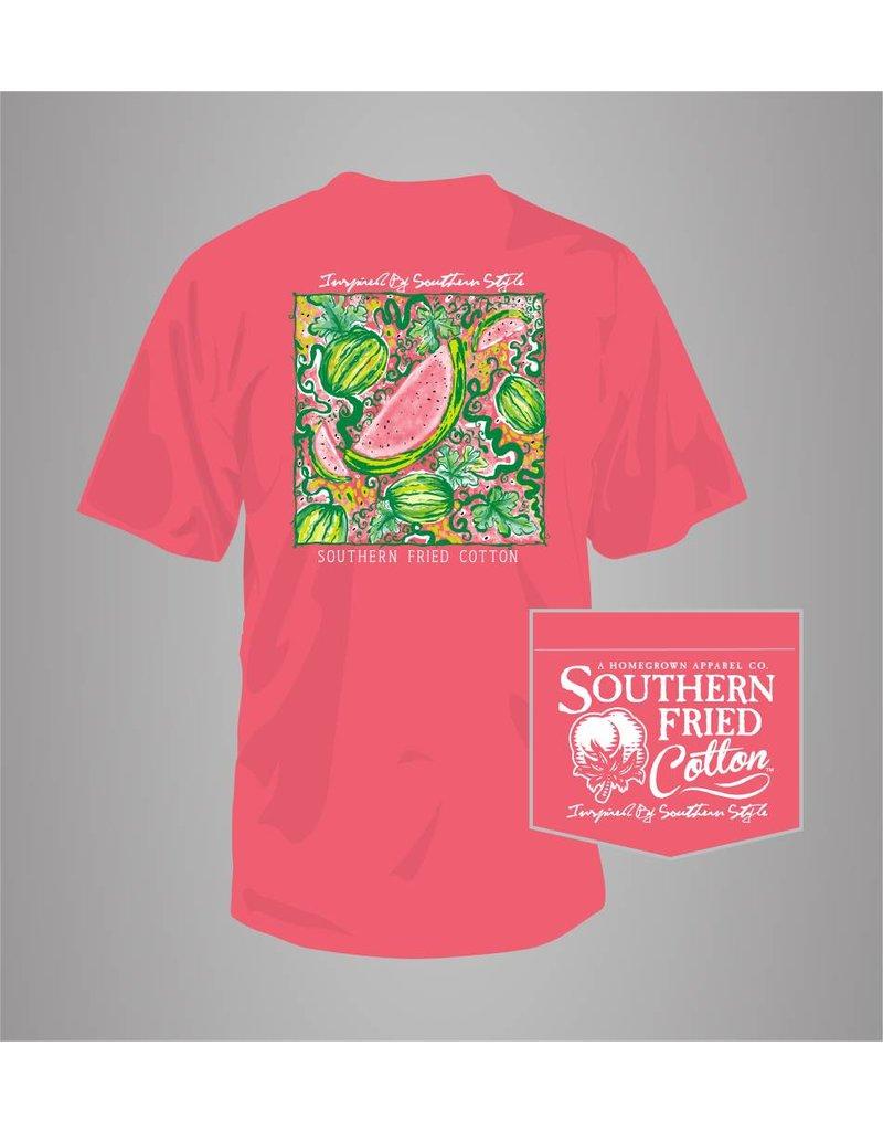 Southern Fried Cotton Southern Fried Cotton Watermelon Patch T-Shirt