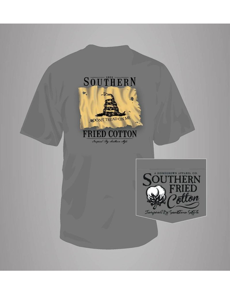 Southern Fried Cotton Southern Fried Cotton Don't Tread Patch T-Shirt