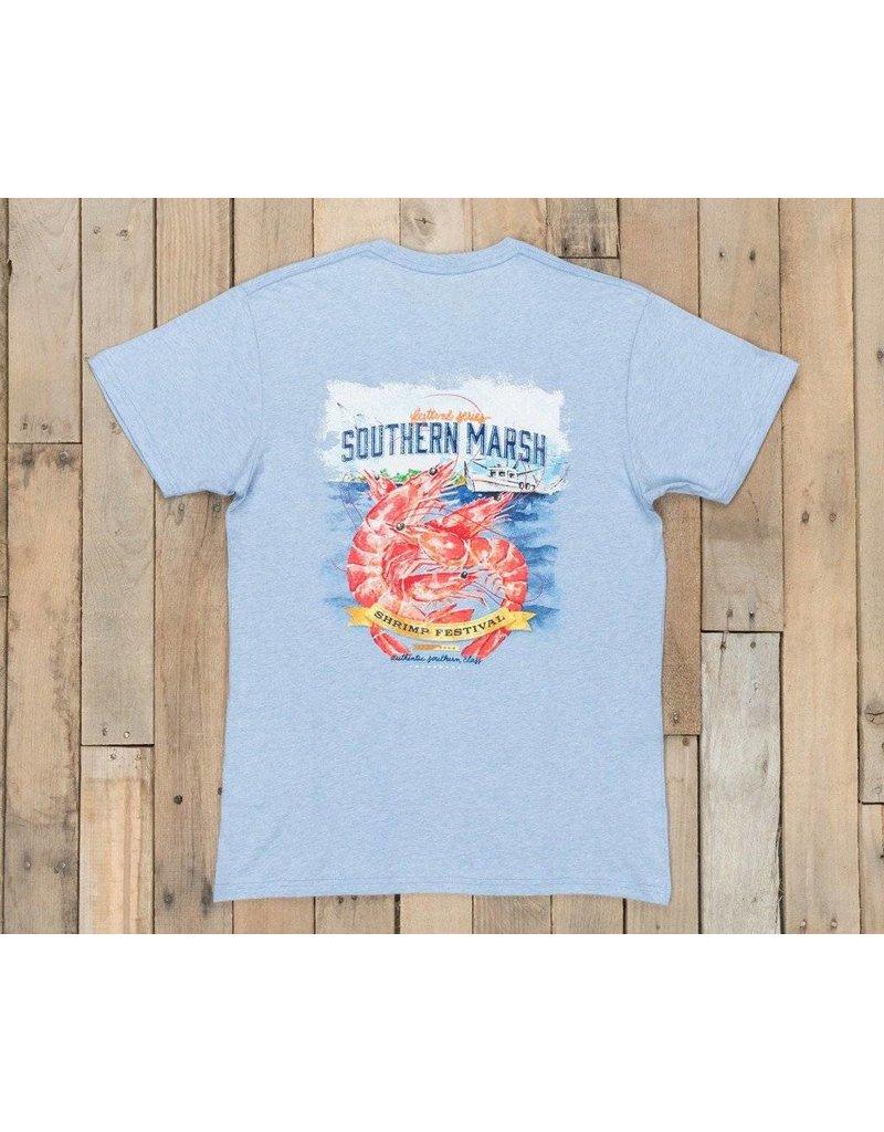 Southern Marsh Southern Marsh - Festivals Tee - Shrimp