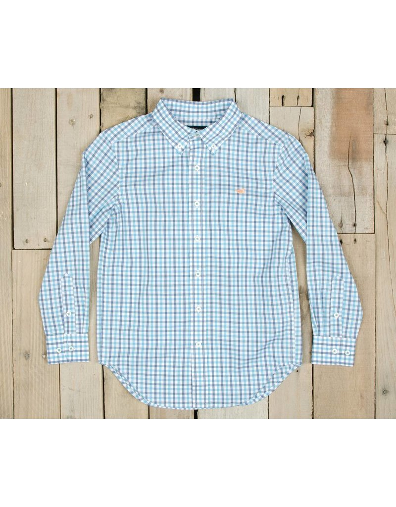 Southern Marsh Southern Marsh Evans Gingham Dress Shirt - Youth