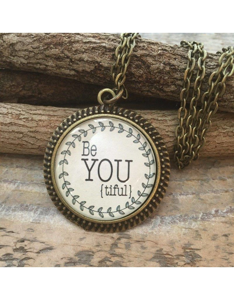 Never Lose Hope Designs Be YOU tiful Antique Bronze Necklace