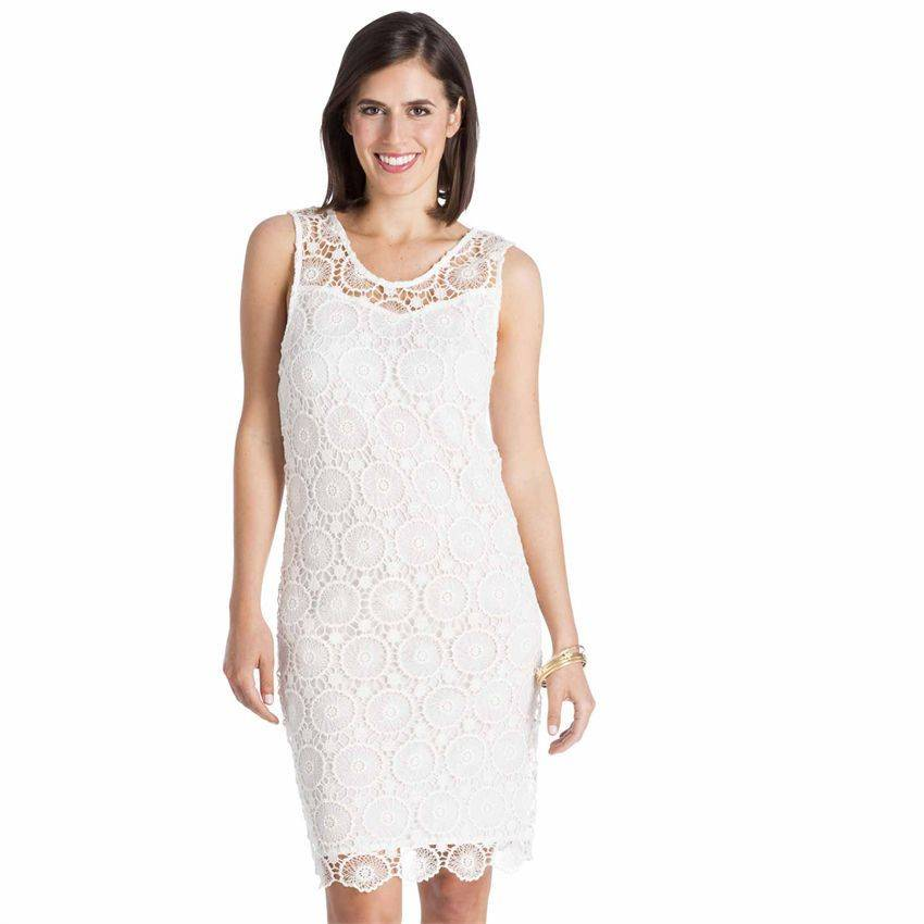 Mud Pie Mud Pie MALLORY CROCHET DRESS