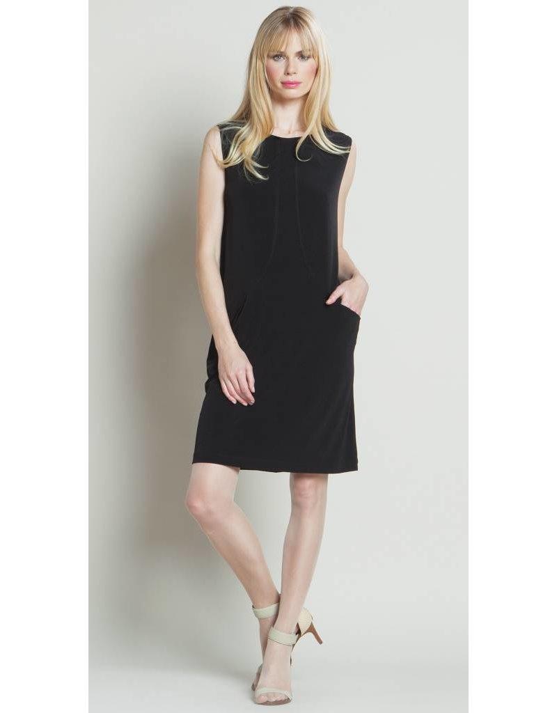 Clara Sun Woo Clara Sun Woo Casual Soft Knit Pocket Dress