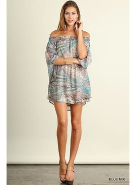Umgee Umgee Printed Dress