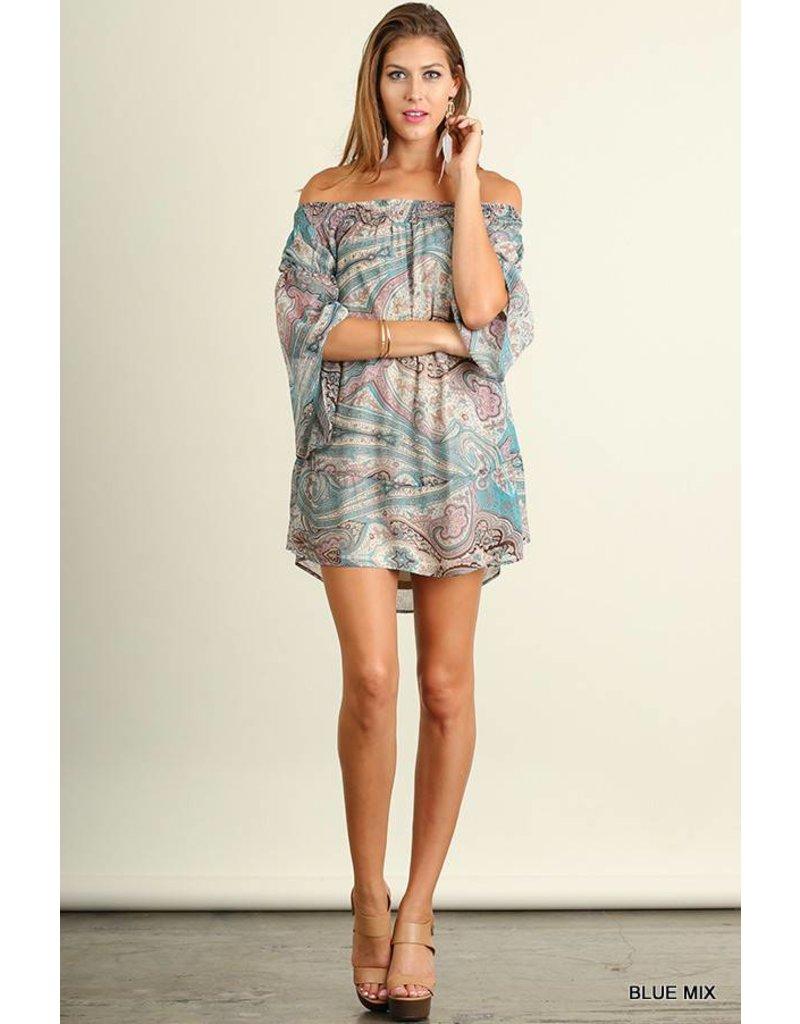 Umgee Umgee Printed Dress