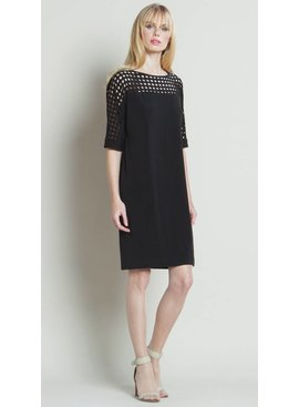 Clara Sun Woo Clara Sun Woo Perforated Ultra Chic Dress