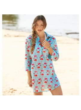 Mud Pie Mud Pie Kelli Shirtdress Cover-Up