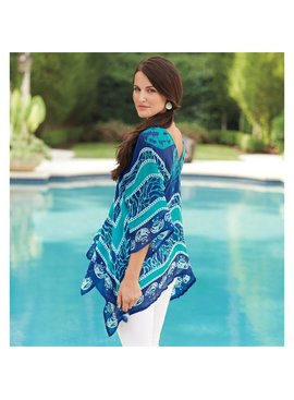 Mud Pie Mud Pie Seabreeze Poncho