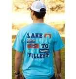 BURLEBO BURLEBO Lake Life To The Fullest - SS Pocket Tee