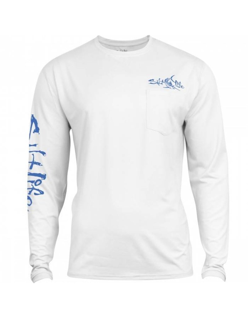 Salt Life Salt Life Captain SLX UVapor Pocket Tee