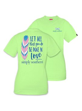 Simply Southern Collection YOUTH Simply Southern Be Done T-Shirt