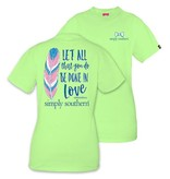 Simply Southern Collection Simply Southern Prep Done In Love T-Shirt