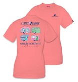 Simply Southern Collection Simply Southern Prep Classy Camper T-Shirt
