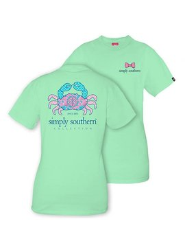 Simply Southern Collection Youth Simply Southern Crab T-Shirt