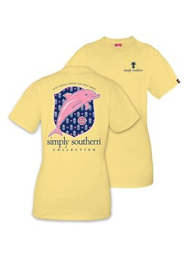Simply Southern Collection Simply Southern Dolphin Pineapple T-shirt