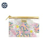 Simply Southern Collection Simply Southern Clear Printed Small Makeup Bag