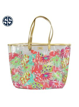 Simply Southern Collection Simply Southern Clear Printed Purse