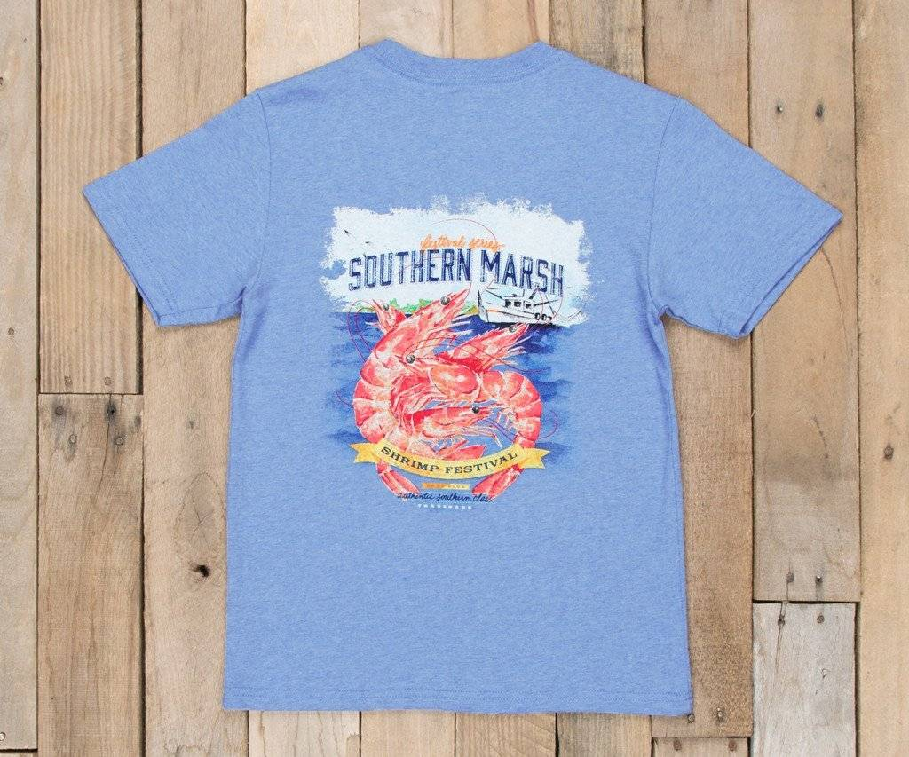 Southern Marsh Southern Marsh Youth Festival Series Tee - Shrimp