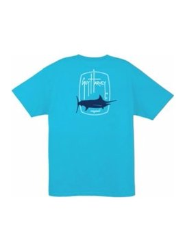 Guy Harvey Guy Harvey Barrel Logo Short Sleeve T-Shirt