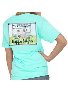Southern Girl Prep Preppy Camper T-Shirt