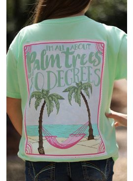 Southern Girl Prep SGP Palm Tree SS T-Shirt