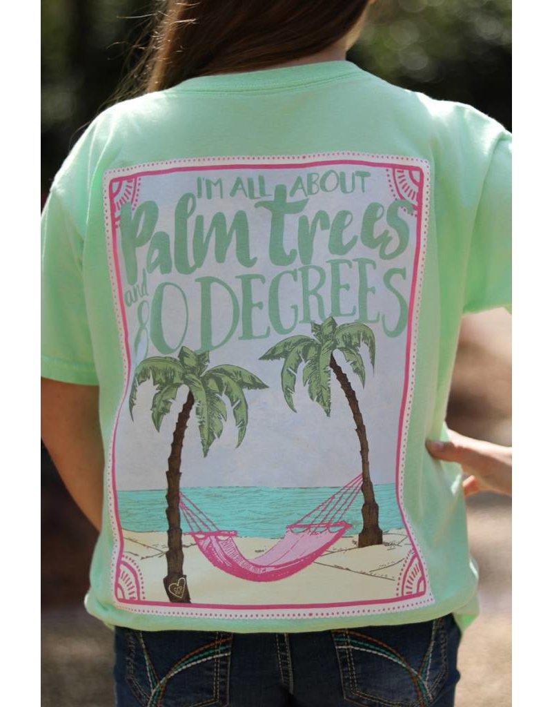 Southern Girl Prep Southern Girl Prep Palm Tree T-Shirt