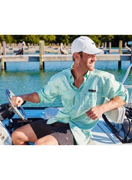 Southern Marsh Harbor Cay Fishing Shirt - Abaco Grid