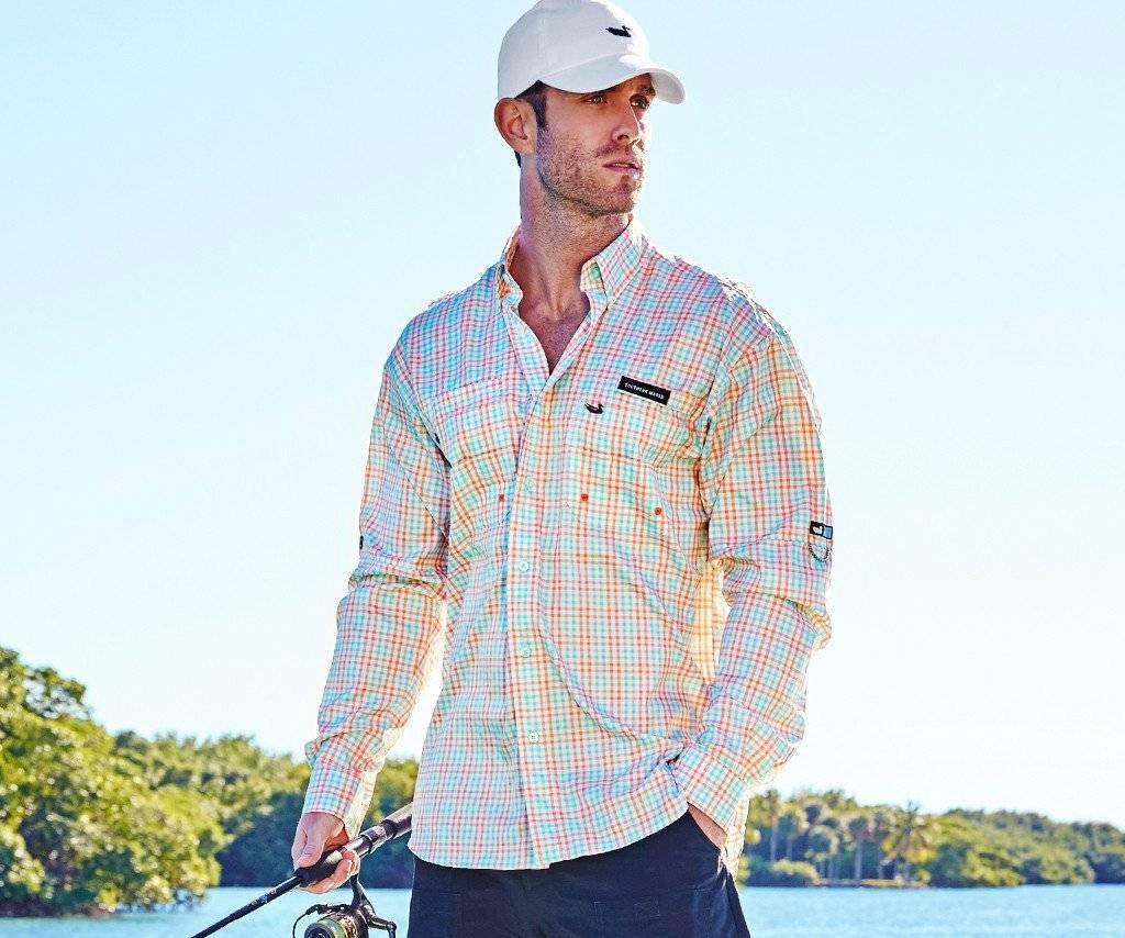 Southern Marsh Southern Marsh Harbor Cay Fishing Shirt - Drake Grid