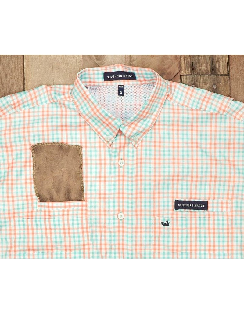 Southern Marsh Southern Marsh Harbor Cay Fishing Shirt - Drake Grid