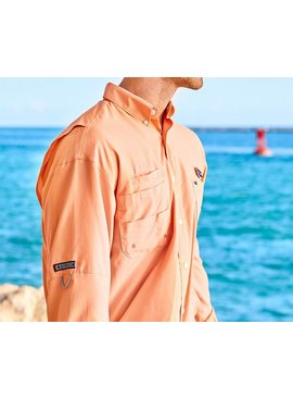 Southern Marsh Southern Marsh Harbor Cay Fishing Shirt - Solid