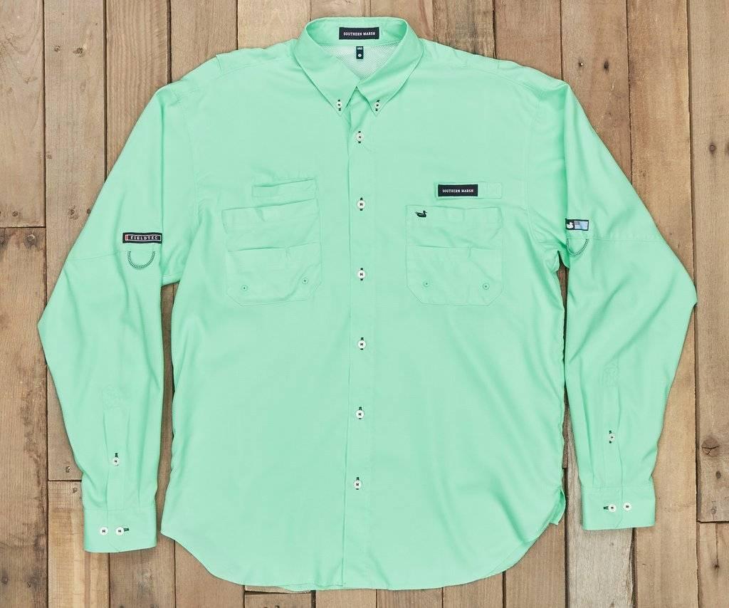 Southern Marsh Southern Marsh Harbor Cay Fishing Shirt - Solid