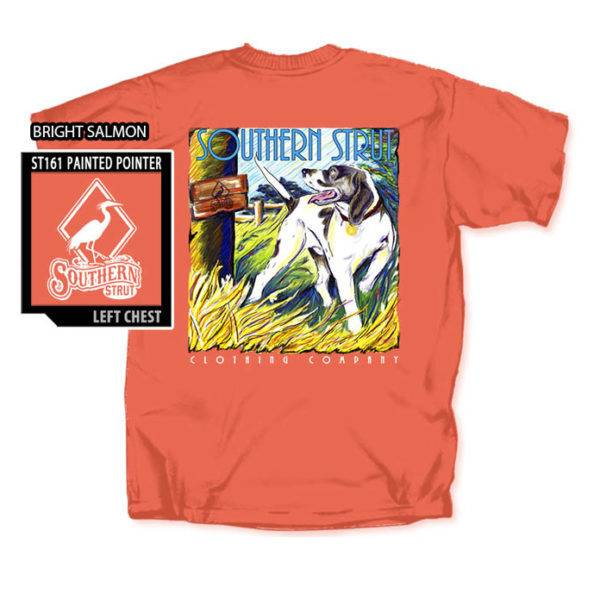 Southern Strut Southern Strut Painted Pointer Short Sleeve T-shirt