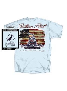 Southern Strut Southern Strut Don't Tread On Me Short Sleeve T-Shirt
