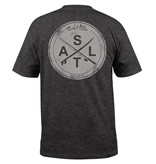 Salt Life Salt Life Stacked Logo Graphic Pocket Tee