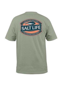 Salt Life Salt Life - Life in the Cast Lane - Pocket Tee
