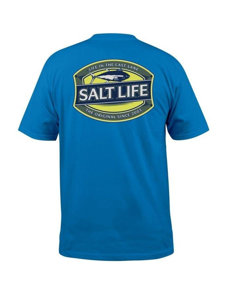 Salt Life Salt Life - Life in the Cast Lane - Pocket Tee