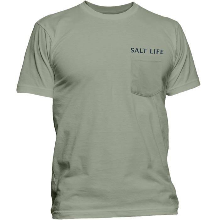 Salt Life Board and Guns Pocket Tee