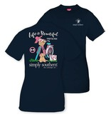 Simply Southern Collection Youth Simply Southern Prep Life T-Shirt