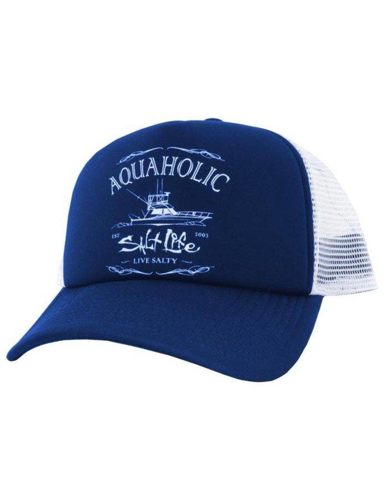 Salt Life Salt Life Aquaholic Trucker Mesh Hat