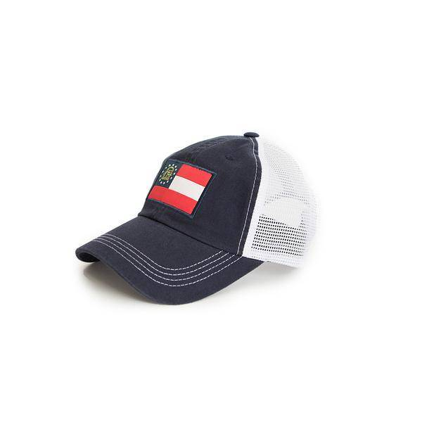 State Traditions -Georgia Flag Trucker Hat