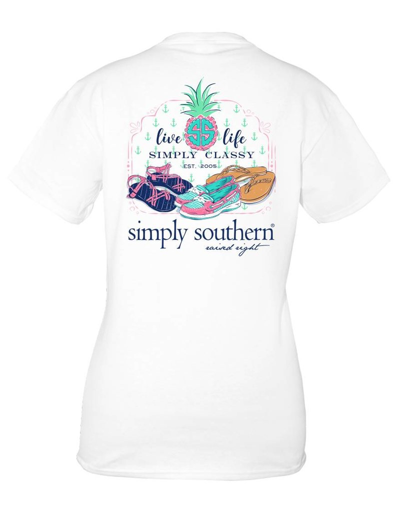 Simply Southern Collection YOUTH Simply Southern Shoes T-Shirt