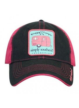 Simply Southern Collection Simply Southern Happy Camper Hat