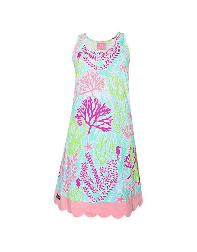 Simply Southern Collection Simply Southern Reef Life Tank Dress