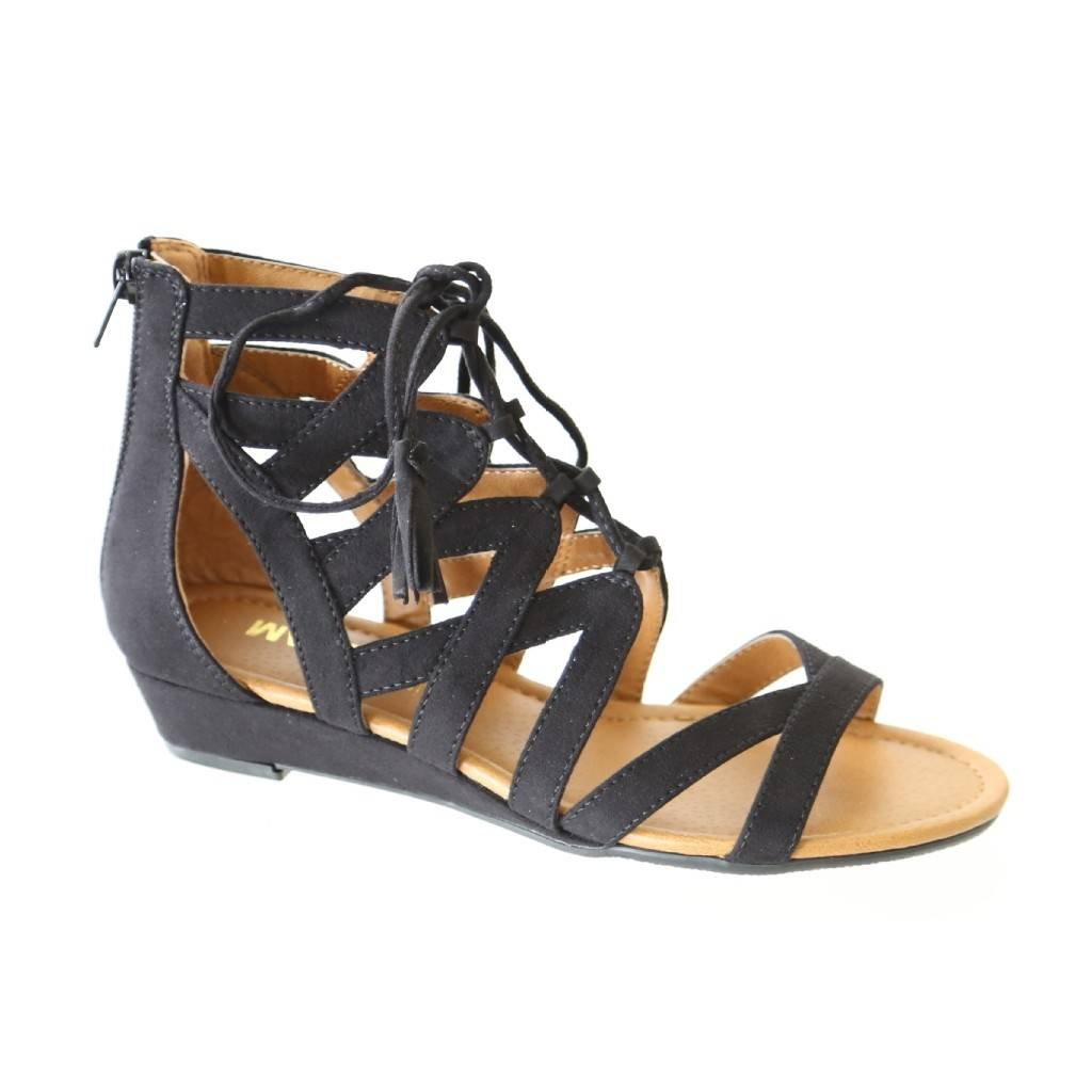 Madeline Girl gladiator-inspired sandal