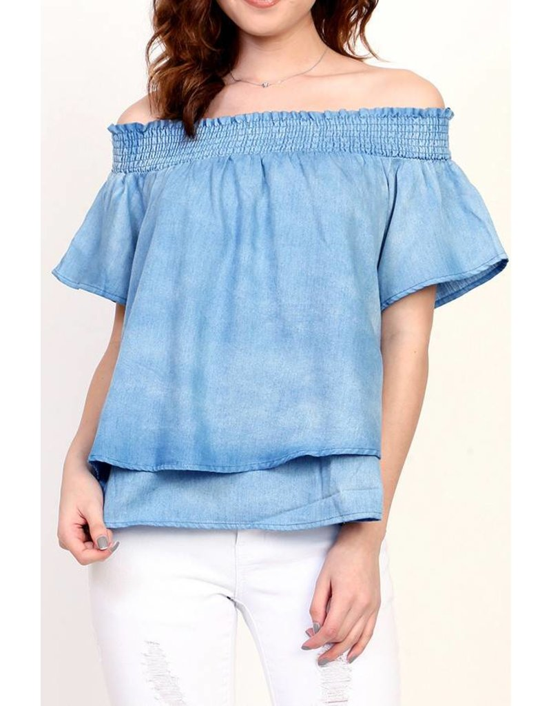 Loverichie Love Richie Layered Hem Top