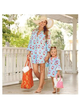 Mud Pie Mud Pie Mini Flamingo Cover-up