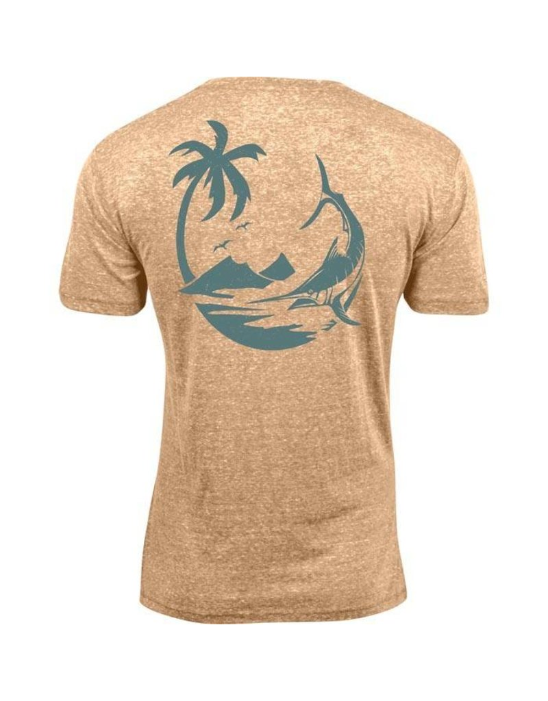 Salt Life Marlin Palm Tri-Blend Tee