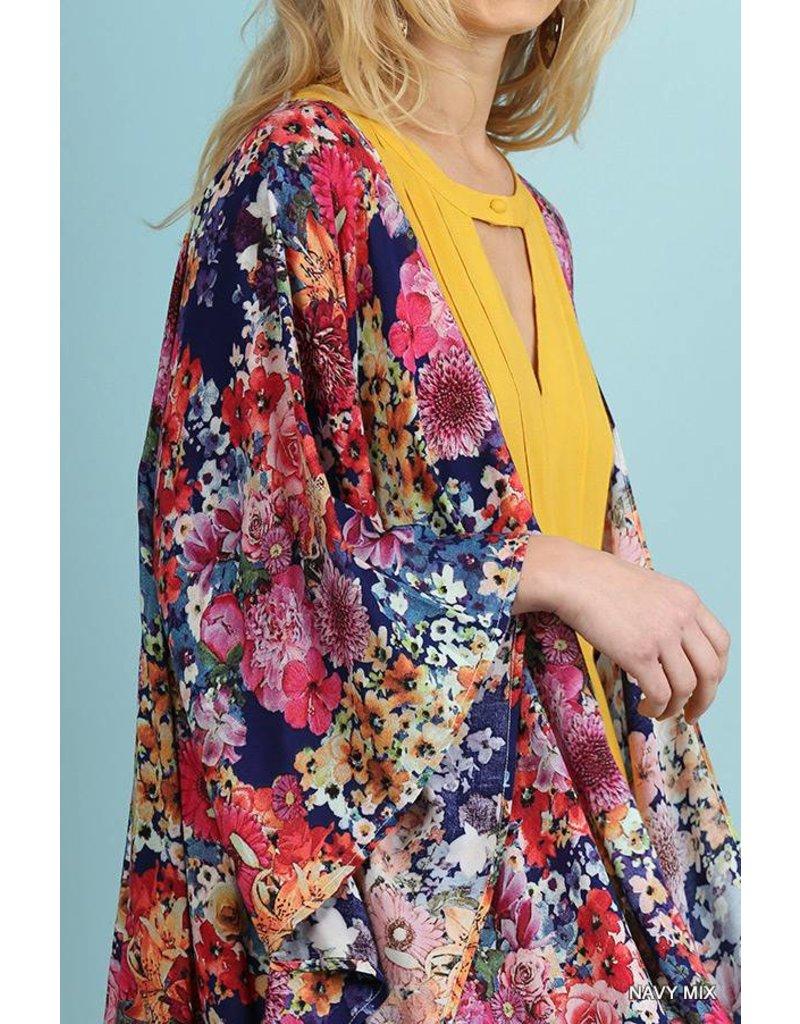 Umgee UMGEE Open Front Kimono